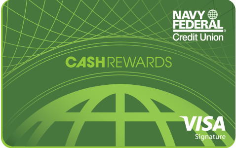Navy Federal cashRewards Card